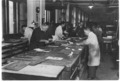 Miklós Andor in the page-setting room of Athenaeum Printing House - cca. 1920 (1).tiff