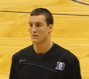 Miles Plumlee - Plumlee during his college career with Duke