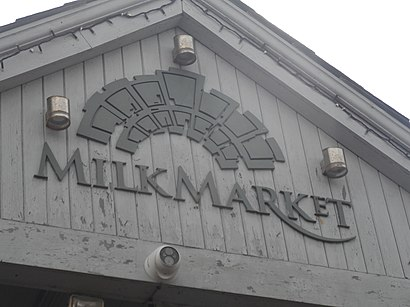 How to get to The Milk Market with public transit - About the place