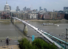 Image illustrative de l'article Millennium Bridge (Londres)