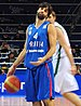Miloš Teodosić of Serbia at Eurobasket 2011.