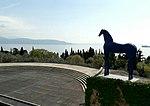 Mimmo Paladino, Cavallo blu.jpg