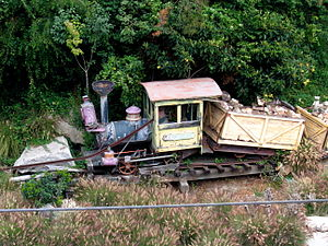 Mine Train Through Nature's Wonderland - Image: Mine Train Accessory at Disneyland