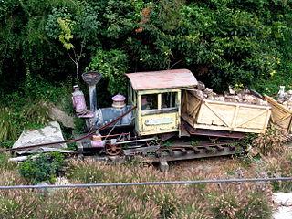 Mine Train Through Natures Wonderland former attraction at Disneyland