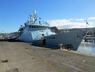 Marine Scotland - MPV Minna