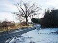 Minor road at Crabtree Turn - geograph.org.uk - 1703668.jpg