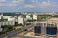 Minsk Nationalbibliothek Blick nach Osten.JPG