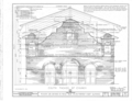 Mission San Antonio de Padua, Hunter Liggett Military Reservation, Jolon, Monterey County, CA HABS CAL,27-JOLO.V,1- (sheet 4 of 17).png
