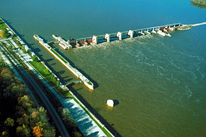 Lock and Dam No. 22 - Mississippi River Lock and Dam No. 22