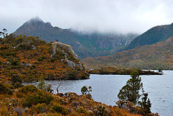 Misty cradle mountain and lake - tasmania.jpg