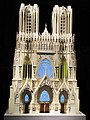 Model of the Reims cathedral.jpg