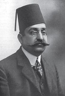 Mohammad Farid 1868-1919, Egyptian political figure of Turkish ancestry