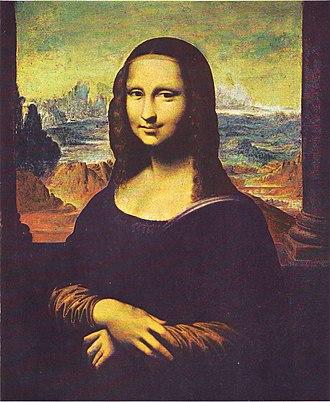 Robert Vernon (art patron) - Copy of Mona Lisa, formerly in the Vernon collection