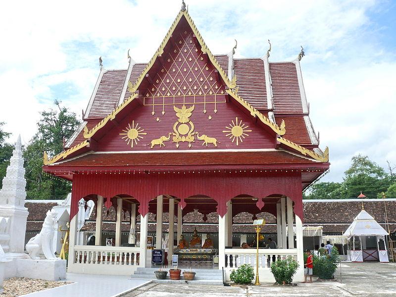 un wat en Thaïlande