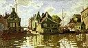 Monet - Canal in Zaandam (Q50765327, VVAF).jpg