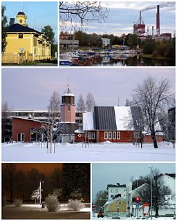 Hollihaka District of Oulu in Finland