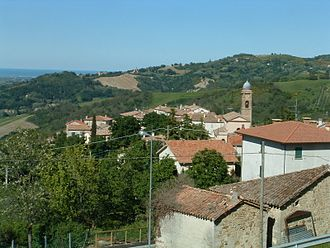 Montegiardino - Panoramic view