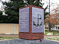 "Monument in honor of the creator, the commanders and soldiers of the Warsaw branch of Kedyw AK ""Kolegium A"" - 01.jpg"