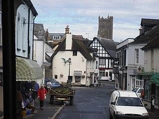 Moretonhampstead town in Teignbridge, United Kindom