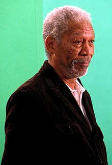 Morgan Freeman, mnamo Disemba 2008
