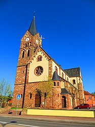 The church in Morsbach