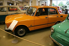Moskvich 1.5 SL at the Car and Communication Museum in Finland.jpg