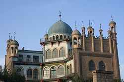 Yanqi Downtown Mosque