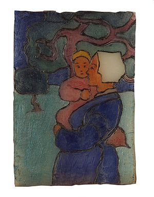 Robert Bevan - Breton Mother and Child, c. 1894
