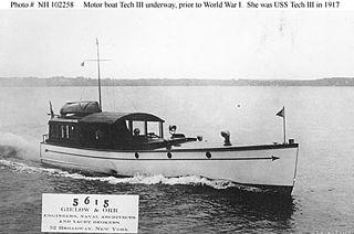 USS <i>Tech III</i> (SP-1055) United States Navy patrol vessel