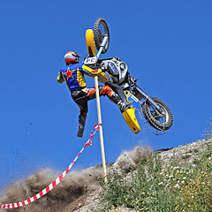 Motorcycle hill climb, Sweden 2009.jpg