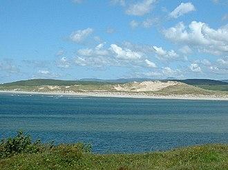 The Rosses - Sand dunes near Leitir.