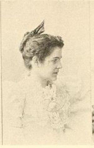 John M. Palmer (politician) - Mrs. Palmer Weber