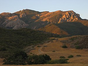 Big Sycamore Canyon - Boney Mountain and the Backbone Trail in Sycamore Canyon, Newbury Park.