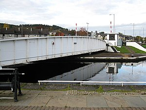 Muirtown - Muirtown swing bridge