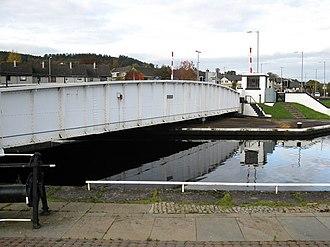 Muirtown - Muirtown swing bridge