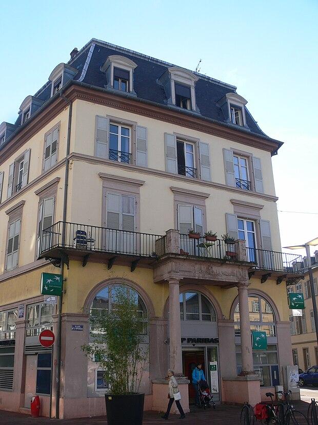 Monument historique à Mulhouse