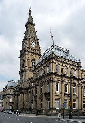 Municipal Buildings, Liverpool - Municipal Buildings, Dale Street