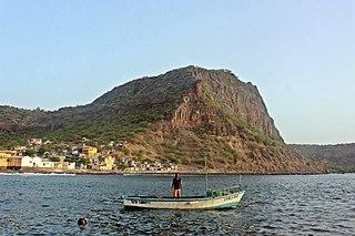 Ribeira da Barca Settlement in Santiago, Cape Verde