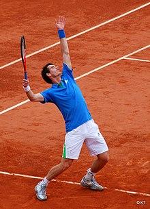 Andy Murray dal servizio