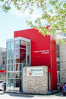 Museum of Health Care museum in Kingston, Ontario