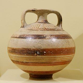 Mycenaean pottery