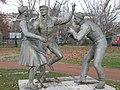 Népi táncosok (Szabó Iván, 1956), Budapest - panoramio - franek2 (9).jpg