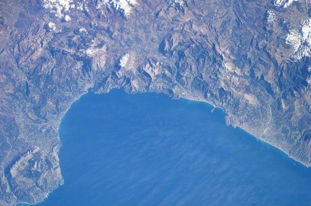 NASA - Gulf of Policastro - Italy