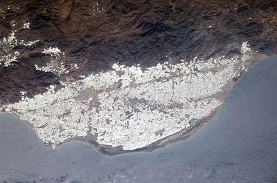 NASA photo of plasticulture, Campo de Dalías, Spain.jpg