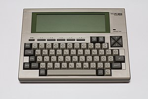 TRS-80 Model 100 - The NEC PC-8201 computer