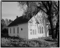 NORTHWEST (FRONT) ELEVATION - First Methodist Episcopal Church, East side of Fourth Avenue, Niobrara, Knox County, NE HABS NEB,54-NIOB,3-1.tif