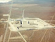NTS - Aerial View of the Area 5 Radioactive Waste Management Site