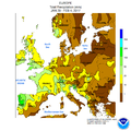 NWS-NOAA Europe Total precipitation JAN 29 - FEB 4, 2017.png