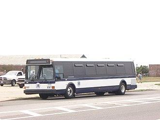 Flxible Metro - New York City Transit Grumman 870 236, preserved as an historic vehicle