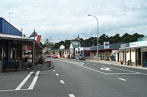 Main street of Ohakune